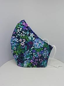 """Rúška - Bavlnené rúška """"kvety"""" - 13156662_"""