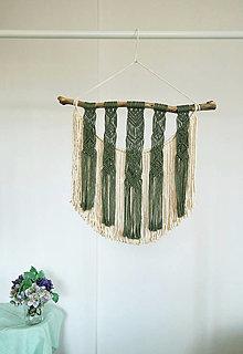 Dekorácie - Makramé dekorácia - Nádych - 13158352_