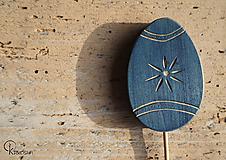 Dekorácie - Veľkonočné vyrezávané vajíčko - 13160720_