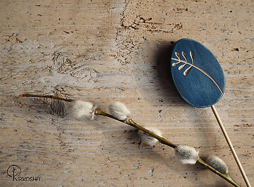 Dekorácie - Veľkonočné vyrezávané vajíčko - 13158947_