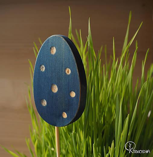 Dekorácie - Veľkonočné vyrezávané vajíčko - 13160679_