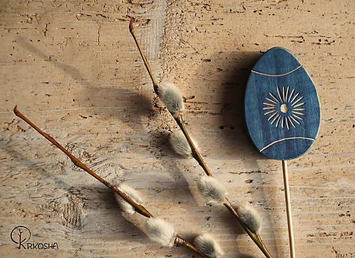 Dekorácie - Veľkonočné vyrezávané vajíčko - 13160698_