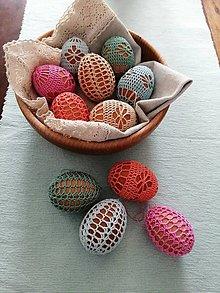 Dekorácie - Sada veľkonočných vajíčok - 13156775_