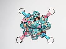 Kľúčenky - Kľúčenka- srdiečko pre zdravotníkov (Ružová) - 13157814_