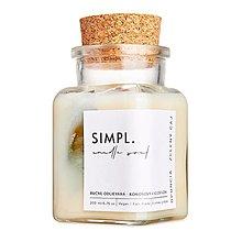 Svietidlá a sviečky - SIMPL. candle soul - eko sviečka opuncia a zelený čaj - 13163527_