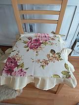 Úžitkový textil - Návleky na stoličky - 13162395_