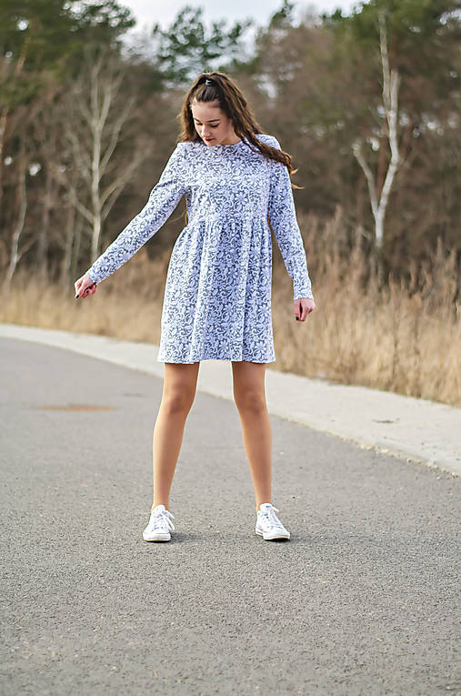 Šaty - Teplákové šaty CLOTHY - 13162364_