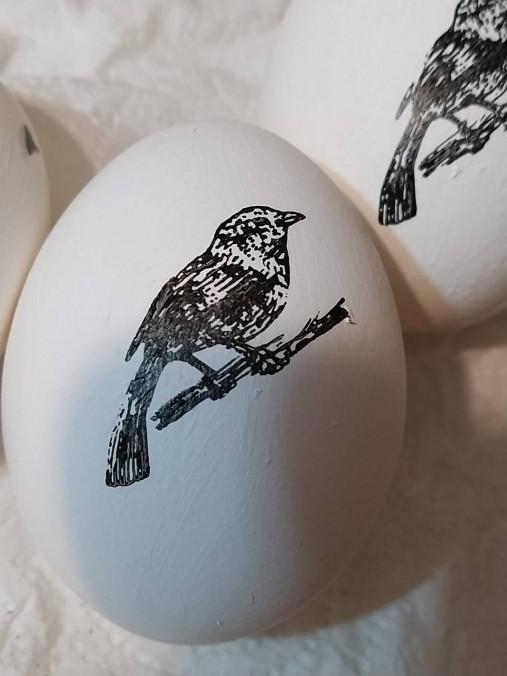 Dekorácie - Veľkonočné vajíčko - vtáčik - 13161590_