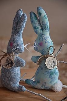 Dekorácie - Zajačik ušiačik - 13164339_