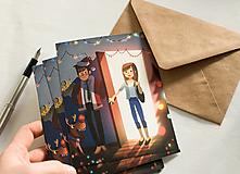 """Papiernictvo - Eco-pohľadnica """"Prekvapenie!"""" - 13161284_"""