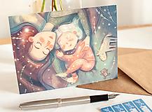 """Papiernictvo - Eco-pohľadnica """"mamina"""" - 13161428_"""