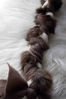 Pre zvieratká - Pletená kožušinka - 13162952_