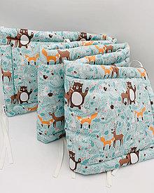 Textil - MANTINEL do postieľky - premiová bavlna - 13163073_