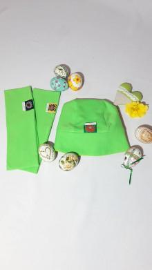 Detské čiapky - Veľkonočné čelenky pre rodičov a čiapočka pre dieťa - 13162575_