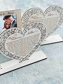 Darčeky pre svadobčanov - Poďakovanie rodičom s fotorámikom 74 - 13168656_