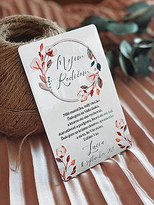 Darčeky pre svadobčanov - Poďakovanie rodičom 68 venček - 13168717_