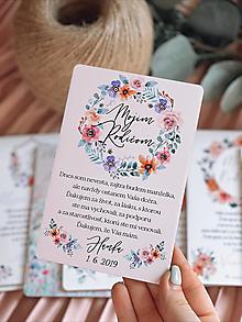 Darčeky pre svadobčanov - Poďakovanie rodičom 69 venček - 13168724_