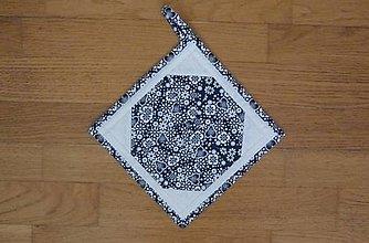 Úžitkový textil - Chňapka modrotlačová - 13170781_