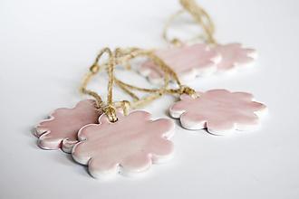 Dekorácie - Ružové kvety - 13167737_