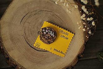 Ozdoby do vlasov - Darček k nákupu nad 15 eur. Netradičné sponky do vlasov (spona s guličkamu) - 13167211_