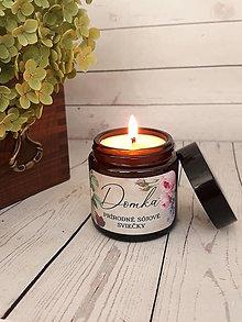 Svietidlá a sviečky - Levanduľa - sójová sviečka 230g - 13169053_