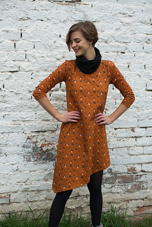 Šaty - Šaty Asymetrik  - 13170283_