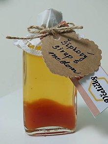 Potraviny - Šípkový sirup s medom - 13168640_