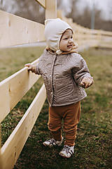 Detské oblečenie - Kabátik Rudy mini - 13168919_