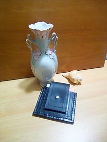 Peňaženky - Kožená peňaženka - čierna, na opasok - 13169078_