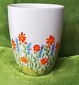 Nádoby - Kvetinový hrnček - 13169188_