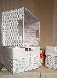 Košíky - Nadrozmerné šatníkové boxy ANKA / ks - 13167444_