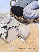 Textil - Mojkáčik s dečkou  - hroch - 13175071_