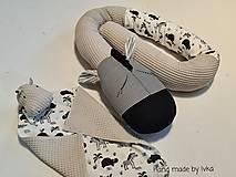 Textil - Mojkáčik s dečkou  - hroch - 13175073_
