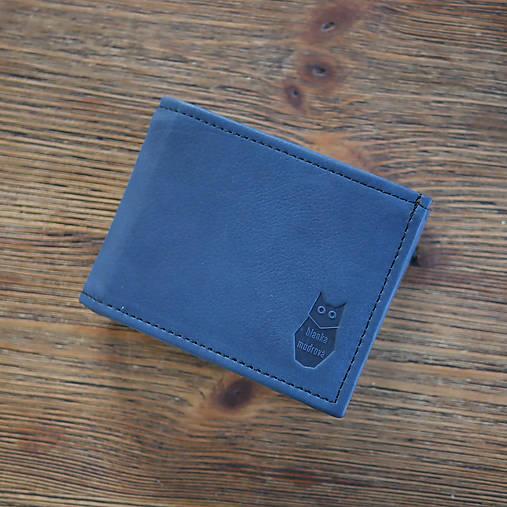Peňaženky - Kožená peňaženka - Alex s výklopnou kapsou a RFID fólií - 13173146_