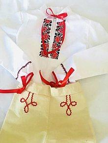 Detské oblečenie - Košeľa a nohavice - 13171233_