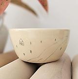 Nádoby - keramická miska Dom pri rieke - 13173838_