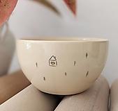 - keramická miska Dom v smrekovom lese - 13173862_