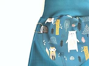 "Detské oblečenie - Softshellky jarné ""happy animals"" - 13173487_"