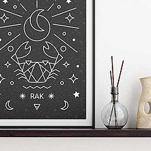 Grafika - RAK, čierny print - 13174866_