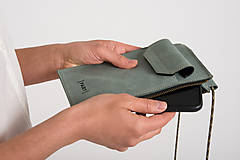 Na mobil - Phone purse GreenSmaragd - 13171090_