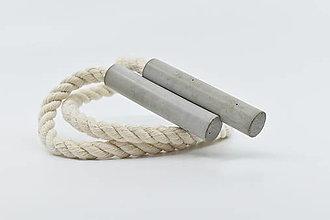 Náhrdelníky - Extreme tubes - betónový náhrdelník - 13173037_