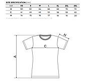 - dámske biele tričko - 13170974_