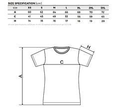 Tričká - dámske biele tričko (S) - 13170974_