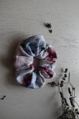 Ozdoby do vlasov - Scrunchies - kvietočky - 13174037_