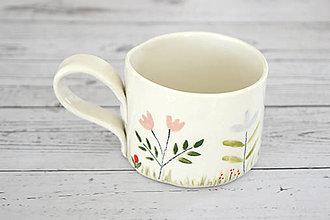 Nádoby - Šálka Lúka II na čaj - Na želanie - 13172652_