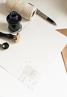 """Papier - Listový papier """"Herbár"""" - 13175126_"""