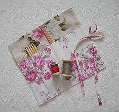 Úžitkový textil - Organizér na ponožkové ihlice - 13176525_