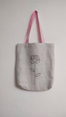 Nákupné tašky - Plátená taška - nežnosť - 13178662_