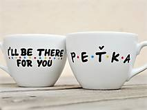Nádoby - Porcelánová miska na kašu/müsli/polievku - Friends - 13179226_