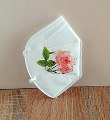 Rúška - respirátor ružička - 13177507_